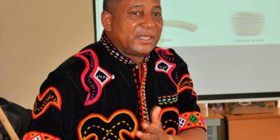 Expert culturel et président de l'association Sandja, Michel Ndoh Ndoh s'investit depuis plus de quatre ans, avec l'association Marocaine Afrikayna pour la collecte et la valorisation des instruments de musique traditionnelle de toute l'Afrique