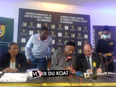 Le partenariat qui a été entériné entre la Fédération camerounaise de football et Guinness Cameroun ouvre une nouvelle page dans le sponsoring du football féminin.