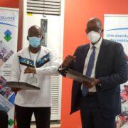 Des personnes comme Michèle, l'association camerounaise Kaba en a formé et perfectionné une trentaine. L'objectif étant de développer le secteur du textile au Cameroun et dans la sous-région, tout en créant des débouchés. Un projet à grande échelle qui a captivé le jury du programme international Earthtalent du groupe Bolloré. Le président de Kaba, Joël Epiphane Wega, a soumissionné et son dossier
