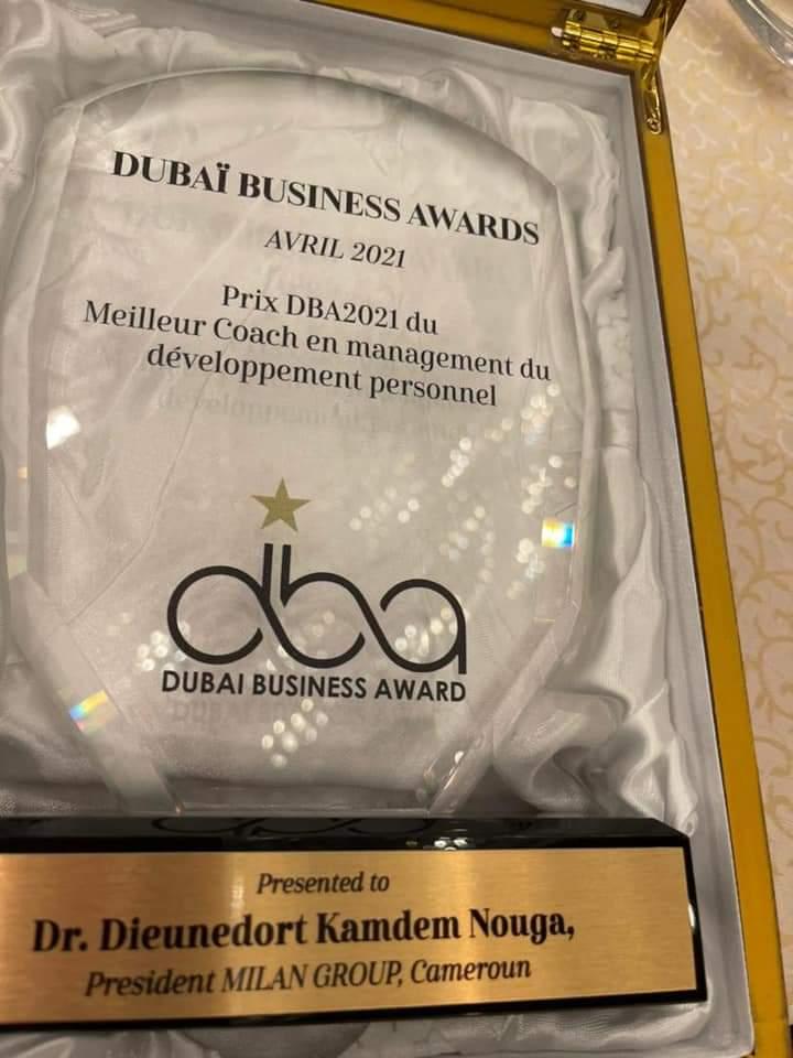 C'est au Crowne Plaza Hôtel Deira, de Dubaï que s'est tenue vendredi 09 Avril 2021, la cérémonie de Rencontre d'affaires et de Distinction dénommée Dubaï Business Awards (Dba)