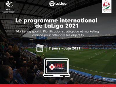 L'Université catholique d'Afrique Centrale et La Liga Business School travaillent ensemble pour lancer un programme de marketing sportif au Cameroun