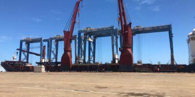 Ces équipements permettront au Kribi Conteneurs Terminal d'optimiser ses trafics.