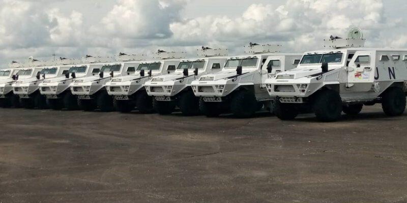 Le ministre délégué à la présidence chargée de la Défense a réceptionné ce mardi 11 mai 2021, un important matériel au bénéfice du contingent camerounais de la Minusca.