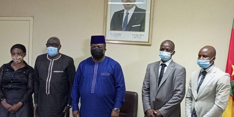 Les membres de la toute nouvelle Commission des droits de l'Homme du Cameroun ont échangé ce mardi 13 juillet 2021 avec le gouverneur de la région, Samuel Dieudonné Ivaha Diboua