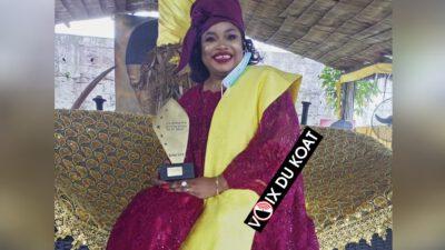 Distinction: la Reine Clarisse Douala Bell honorée