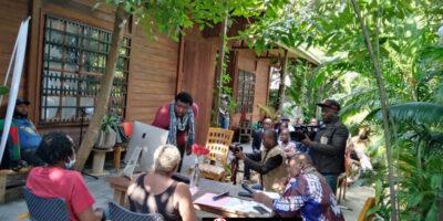 Cet espace culturel est soutenu dans ce combat par son mentor Dr. Bonaventure Soh Bejeng Ndikung, fondateur et directeur artistique de Savvy Contemporary à Berlin