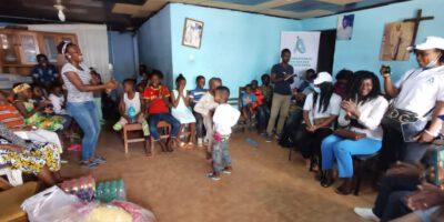 Rentrée scolaire 2021: l'orphelinat des Œuvres Sans Voix paré