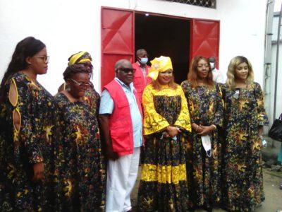 L'élan de cœur de la présidente fondatrice de l'association Africa Ladies for peace, s'inscrit dans le cadre de la célébration de la journée internationale de la paix.