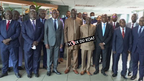 Les délégués des pays de la sous-région et des institutions membres sont en travaux dans la ville de Douala au Cameroun, ce mercredi 22 septembre 2021.
