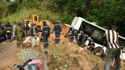 Accidents de la route: le Cameroun perd 100 milliards Fcfa par an